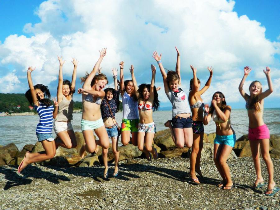 Молодежный отдых в Крыму